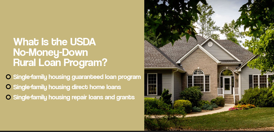 USDA Rural Housing Loans Give you Easy Access to Your Dream Home